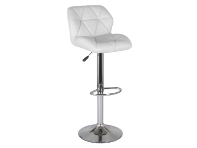 Барный стул Алмаз WX-2582 экокожа белый