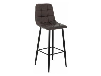 Барный стул Chio black - dark brown