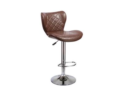 Барный стул Кадиллак WX-005 экокожа коричневый
