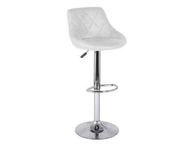Барный стул Комфорт WX-2396 экокожа белый