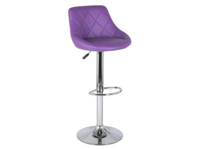 Барный стул Комфорт WX-2396 экокожа фиолетовый