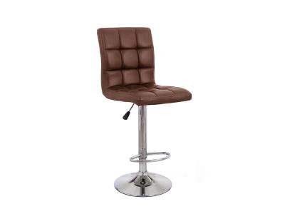 Барный стул Крюгер WX-2516 экокожа коричневый