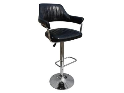 Барный стул Лого LM-5019 чёрный крокодил