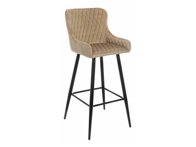 Барный стул Mint темно-бежевый