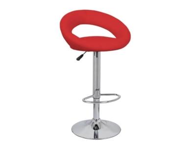 Барный стул Мира WX-1189 экокожа красный