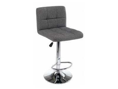 Барный стул Paskal grey fabric