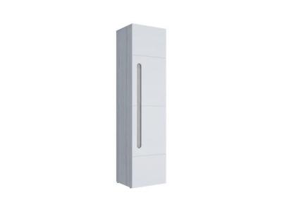 Шкаф 1-створчатый Палермо-3 Юниор белый глянец 536х2078х381 мм