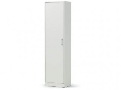 Шкаф-1 Модуль без зеркала Белый