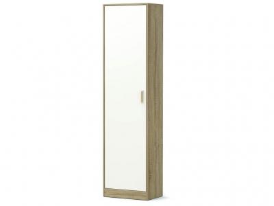 Шкаф-1 Модуль без зеркала Дуб сонома - Белый
