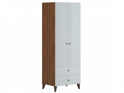 Шкаф 2 ящика для одежды Верона В 1.0.1