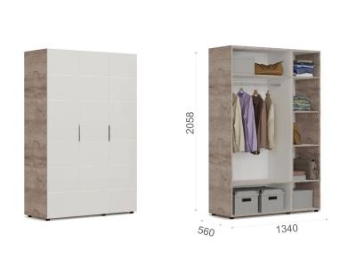 Шкаф 3-х дверный ДДД Джулия