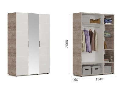 Шкаф 3-х дверный ДЗД Джулия