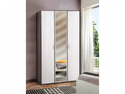 Шкаф 3-х дверный с зеркалом Венеция 9