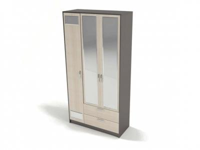 Шкаф 3-х створчатый с зеркалом Венера 2270х1120х450