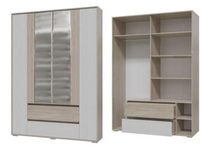 Шкаф 4-х дверный с ящиками Мальта Гранд 4-4811