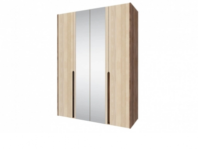 Шкаф 4-х дверный с зеркалом Ребекка СТЛ-186-01