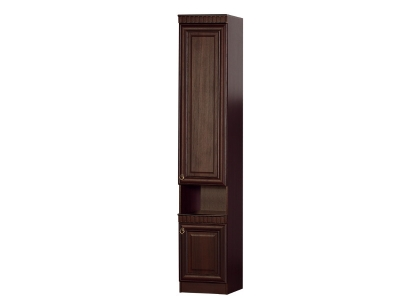 Шкаф 617 Инна Денвер темный 400х428х2248