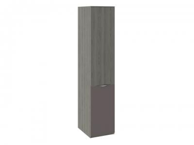 Шкаф для белья с 1 дверью ЛКП Либерти СМ-297.07.013 Хадсон, Серый
