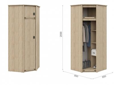 Шкаф для детской угловой Валенсия Дуб сонома