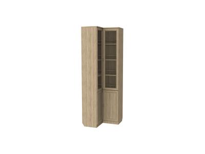 Шкаф для книг угловой артикул 211 дуб сонома
