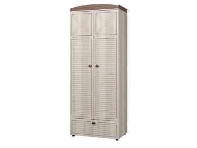 Шкаф для одежды 2-х дв с ящиками Калипсо ИД 01-346 500х811х2098