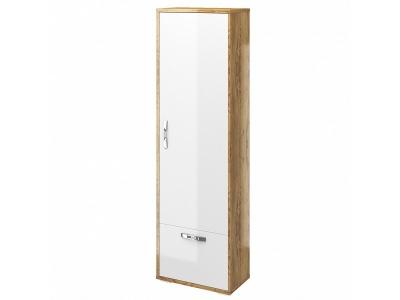 Шкаф для одежды Джессика Белый-Дуб золотой 601х343х2080