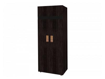 Шкаф для одежды Гипер 2 797х389х2113 с фасадом в цвете Венге
