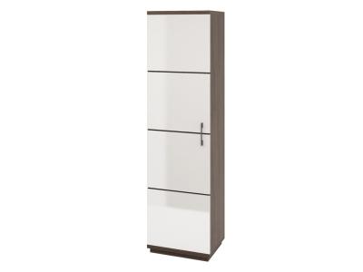 Шкаф для одежды Катрин Белый глянец-дуб пасадена 550х418х2010