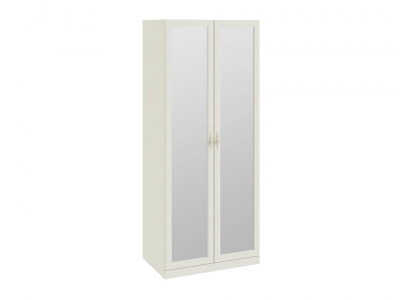Шкаф для одежды с 2 зеркальными дверями Лючия СМ-235.07.04 Штрихлак