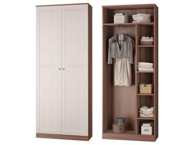 Шкаф для платья и белья с выдвижной штангой Лестер