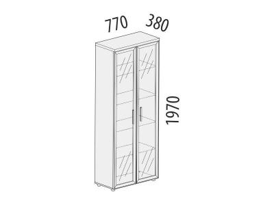 Шкаф для сувениров 21.13 Цезарь 770х380х1970