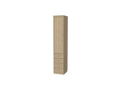 Шкаф для белья с ящиками артикул 104 дуб сонома