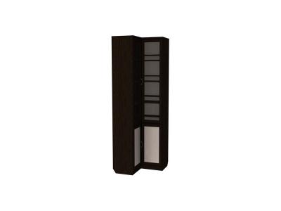 Шкаф для книг угловой артикул 211 венге