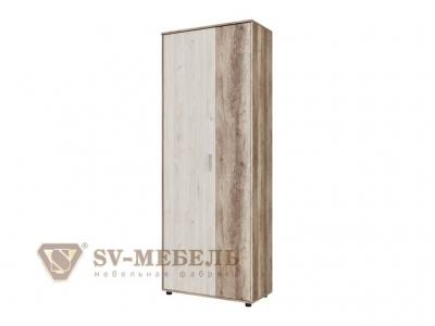 Шкаф двухстворчатый комбинированный Визит 1 800х2144х390 Каньон светлый/Гикори светлый