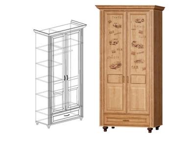 Шкаф двухдверный Ралли 853 2190x1135x575