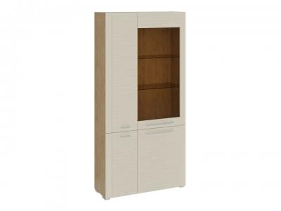 Шкаф комбинированный с 4 дверями Николь ТД-296.07.37 Бунратти, Бежевый