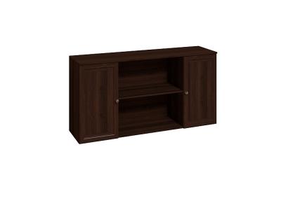 Шкаф навесной 1 Монпелье 1598(1520)х400х814(774) Орех шоколадный