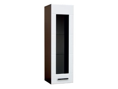 Шкаф навесной со стеклом модуль-1 Грация правый