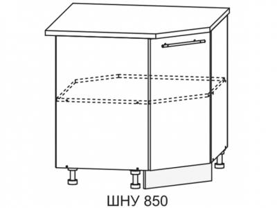 Шкаф нижний 850мм угловой СУ 850х850мм МДФ сандал б/столешницы Империя