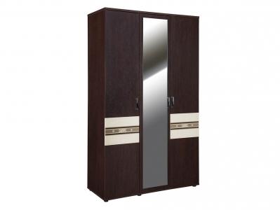 Шкаф трехдверный с зеркалом 95.12 Ривьера 1350х580х2250