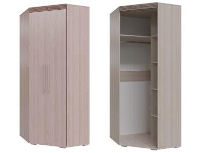 Шкаф угловой 2-х дверный Азалия 4-4808 2220х1005х865