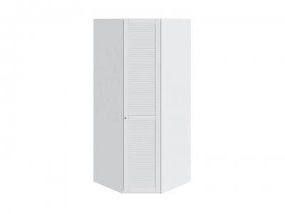 Шкаф угловой с 1 дверью правый Ривьера СМ 241.07.003 R Белый