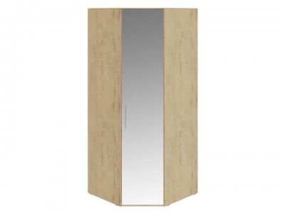 Шкаф угловой с 1 зерк. дверью правый Николь СМ-295.07.007 R Бунратти