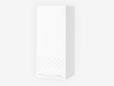 Шкаф верхний 300мм левый П 700х300мм МДФ белый Капля