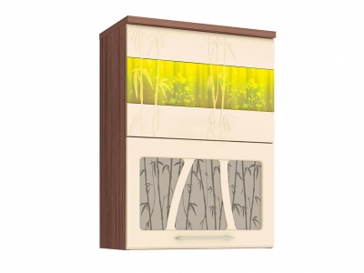 Шкаф-витрина плавное закрывание 17.80.1 Тропикана 600х320х830
