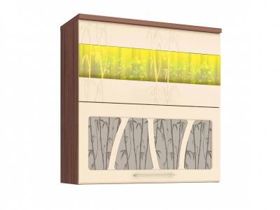 Шкаф-витрина плавное закрывание 17.81.1 Тропикана 800х320х830