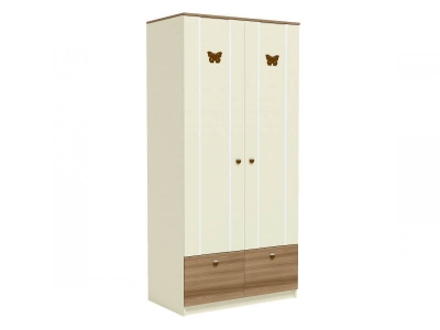 Шкаф для одежды Юниор Ю5 1006х580х2116 (2 полки штанга ящик)