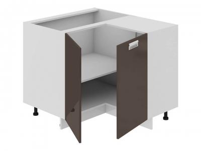 Шкаф напольный нестандартный угловой 90 НнУ90_72_2ДР(НнУ) Бьюти Грэй
