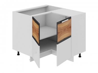 Шкаф напольный нестандартный угловой 90 НнУ90_72_2ДР(НнУ) Фэнтези Вуд