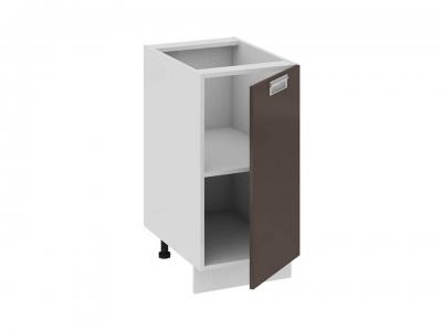 Шкаф напольный правый Н_72-40_1ДР(А) Бьюти Грэй